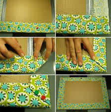 Homemade Memo Board Cool Make A Bulletin Board Easy Fabric Memo Board Instructions