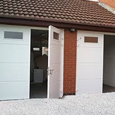 side hinged doors alliance garage doors south west