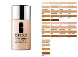 Makeup Foundation Color Chart Best Foundation Lines For Latinas Foundations For Darker