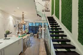 a stairwell indoor living wall freshome com