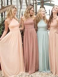 best 25 chiffon bridesmaid dresses ideas