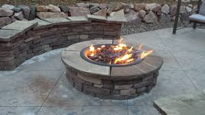 fire pit outdoor propane fire pit kits fire pit grill ideas throughout diy regarding mesmerizing