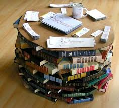 5 repurposing ideas for old books everything from bathtub to l