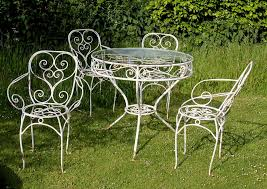 white cast iron patio furniture. Image Of White Cast Iron Patio Furniture. Vintage - Furniture I