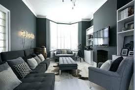 dark grey couch living room decor sofa