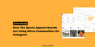 Sport Brands Case Study How The Sports Apparel Brands Are Using Micro