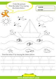 Alphabet Trace And Write Kids Under 7 Alphabet Worksheets