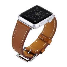 leather watch strap watch band for apple watch 42mm
