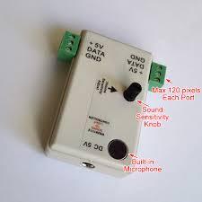 Sound To Light Controller Sound To Light Ws2811 Controller Ws2812 Controller Pixel
