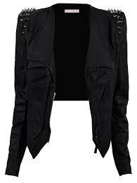 jacket all black everything black jacket studded jacket black leather jacket fashion y perfecto black