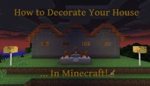 decorate your house by recreating basic furniture that isn t included in minecraft