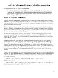 Guide To Mla Documentation Citation Note Typography