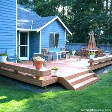 Backyard Decking Designs Inspiration Small Backyard Decks Patios Backyard Deck Designs Deck Pictures