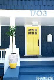 blue door house. Front Door Inspirations Dark Blue Feng Shui House O
