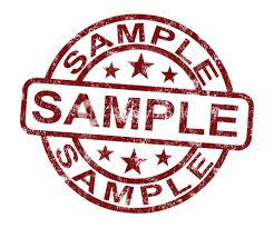 sample stamp showing example symbol or taste royalty stock  sample stamp showing example symbol or taste