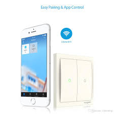 Two Gang Smart Light Switch 2019 Koogeek Two Gang Wi Fi Enabled Smart Light Switch 220 240v Works With Apple Homekit Support Siri Remote Control Kh02cn From Cntomtop 36 88
