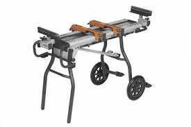 ridgid miter saw table. mounting the saw to a portable stand makes moving between two locations easier. we tested stands for stability, ridgid miter table h