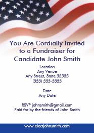 Political Fundraising Invitations How To Host A Political Meet Greet And Why You Should
