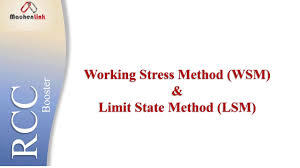Working Stress Method Of Rcc Design Working Stress Method And Limit State Method Rcc Booster