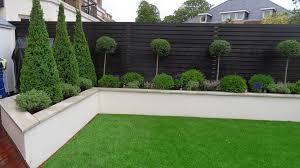 black garden fence garden design backyard