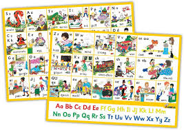 8 Jolly Phonics Letter Sound Wall Charts In Print Letters
