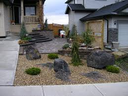 Decorative Rock Designs Backyard Front Yard Landscaping Ideas With Stones Decorative Rock 35