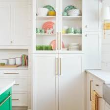 Image Shallow White Floortoceiling Shaker Cabinets With Open View Photos Hgtv Photos Hgtv