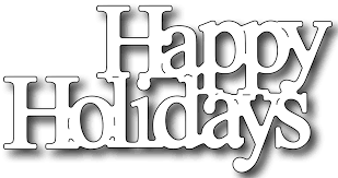 happy holidays white.  White Frantic Stamper Happenings Red White And Blue Happy Holidays Ann  Greenspan With