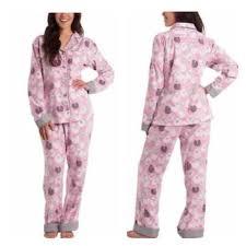 Munki Munki Sheep Flannel Pajama Set New Nwt