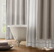 italian hotel satin stitch shower curtain in the s color