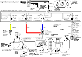 mustang air conditioning vacuum controls diagram mustang 94 95 96 97 98 mustang air conditioning vacuum controls diagram