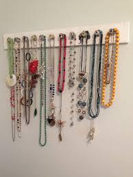DIY {Simple Necklace Storage + Display}