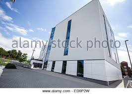 sunny day home office. Modern White Building, On A Sunny Day Walsall Housing Group Head Office - Stock Photo Home