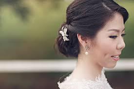 prewedding hairdo and makeup