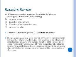 ATOMIC CONCEPTS Regents Review. - ppt video online download