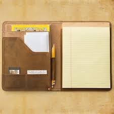 Leather Portfolio Case For Resume Leather Folder For Resume Amazon