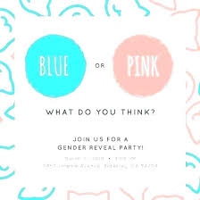 Free Printable Gender Reveal Party Invitations Combined With Gender