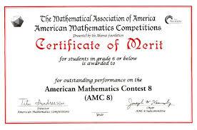 Awards For The Amc 10 Amc 12 Contests Aime Usamo Examinations
