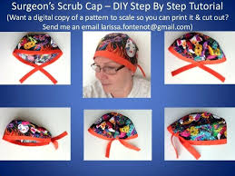 Scrub Cap Pattern Inspiration Surgical Cap Pattern Hats Free Sewing Scrub Tutorial Filbookfest