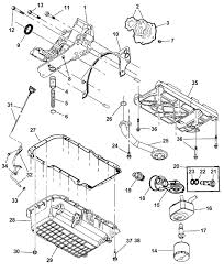 2004 chrysler pacifica engine diagram 4792907ab genuine mopar