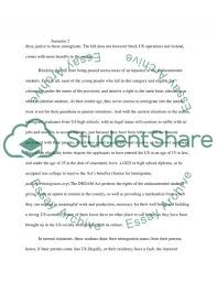 essay on illegal immigration persuasive essay on illegal immigration