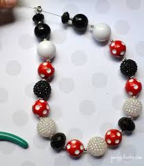 diy bubblegum necklace tutorial