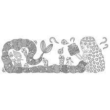 ぷちぬり絵 激細ボールペン画家佐藤明日香の 第2弾 人魚姫 通販セブン