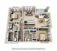 Find Your Two Bedroom Apartment At Millenia 700