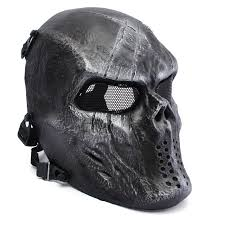 outdoor tactical gear mask airsoft mask overhead skull mask cs war game mask com