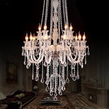 aliexpress large modern crystal chandelier for high pertaining to awesome residence large chandelier lighting ideas