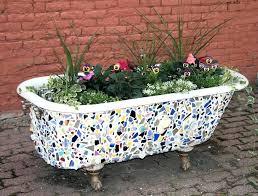 mosaic plant pots for mosaic bathtub planter mosaic planters for uk mosaic plant pots
