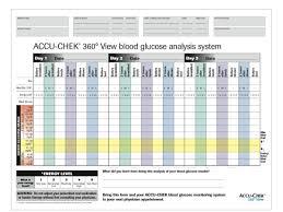 Accu Chek Reading Chart