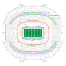 Genuine Cowboy Stadium Parking Chart Att Stadium Seating