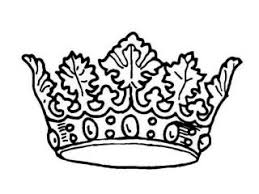 Small Picture Coloring pages crown picture of princess crown coloring page